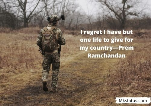 Quotes for Indian Army Day