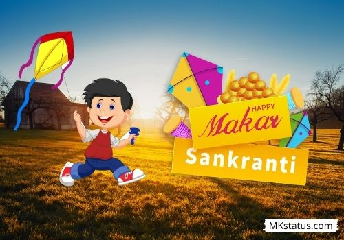 Happy Makar Sankranti 2021 greeting images