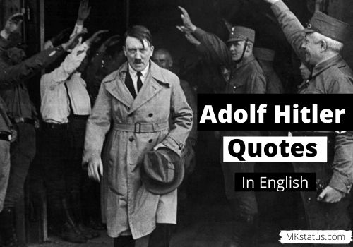 Adolf Hitler quotes in English