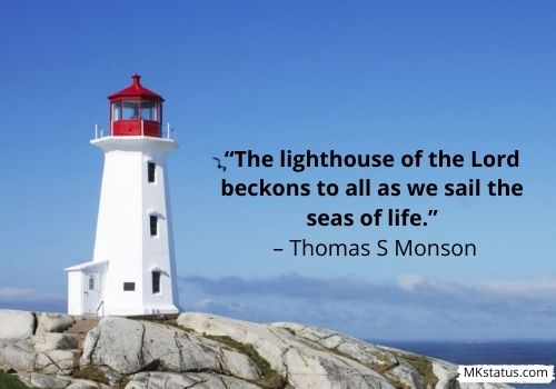 Inspiration Lighthouse Quotes