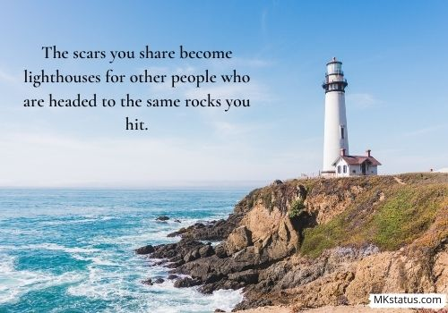 Inspirational Lighthouse Quotes & Sayings