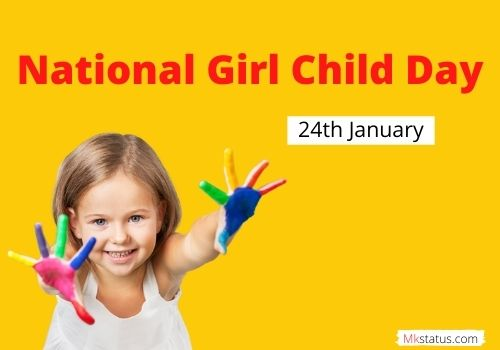 Happy National Girl Child Day 2021 images