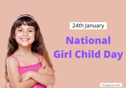 Happy National Girl Child Day wishes mages