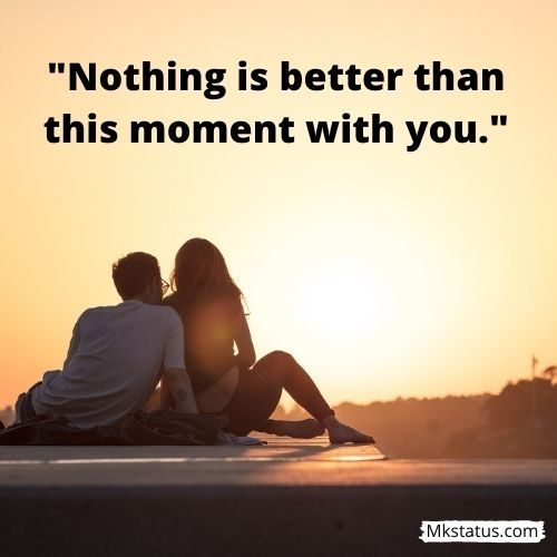 Romantic sunset quotes