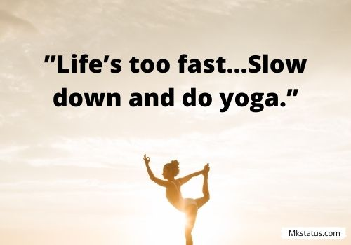 Yoga quotes for Instagram