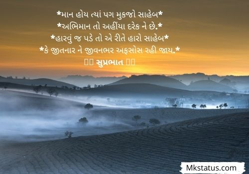Latest Good Morning Quotes In Gujarati