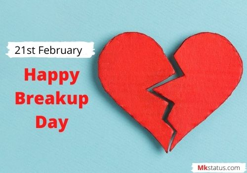 Happy Breakup Day wishes images