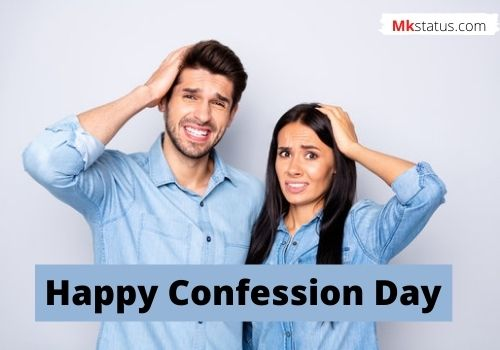 Confession Day wishes images