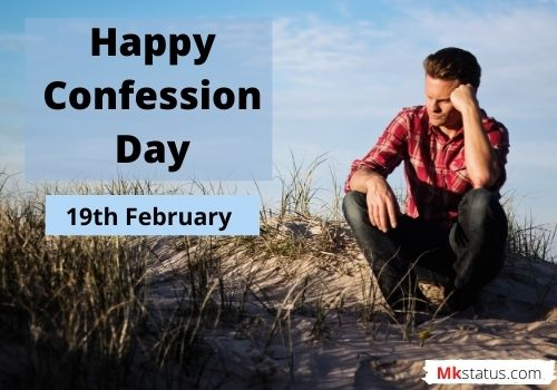 Happy Confession Day greeting images