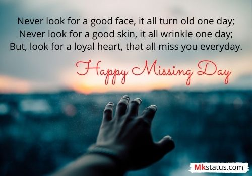 Happy Missing Day Wishes Messages