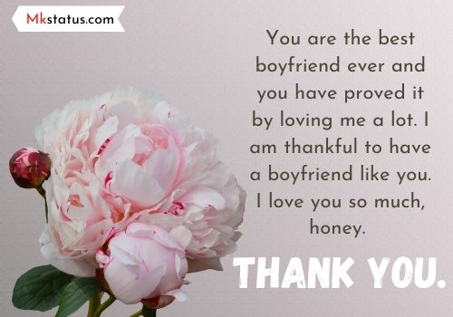 50 thank you messages for boyfriend
