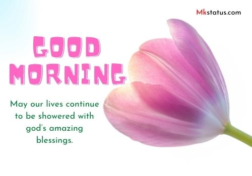 Good Morning Blessing Messages