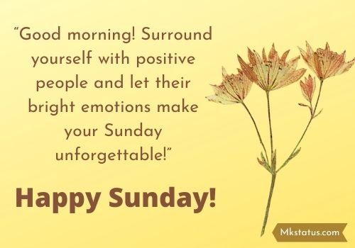 Sunday Blessings Messages